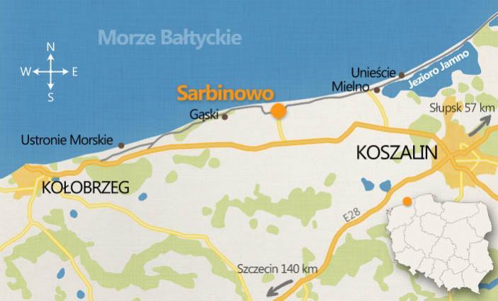Sarbinowo 450m Od Morza Atrakcyjne Ceny I Lokalizacja Z